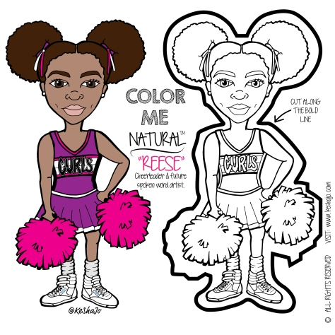 REESE is the captain of her cheerleading squad.  She loves Maya Angelou and hopes to become a writer when she grows up.